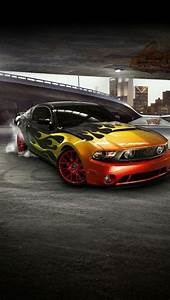 Iphone 5 Wallpapers Hd COOL MUSTANG FRONT CAR IPHONE 5