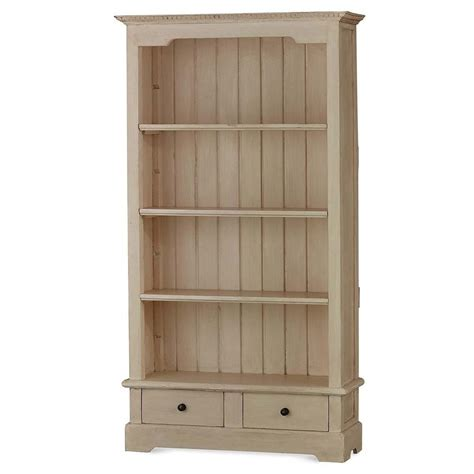 Solid Hardwood Bookcases by Bramble 10326 White Manchester Bookcase Solid Wood