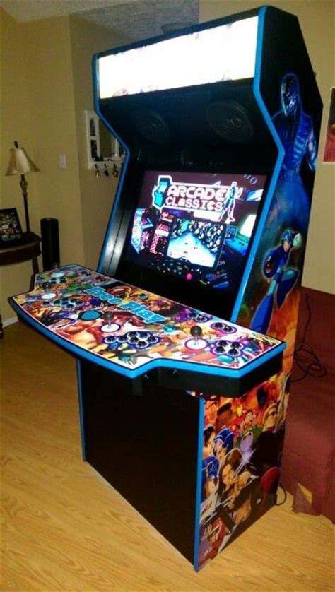 4 Player Arcade Cabinet Plans by Arcade Cabinet 4 Players Diy Cabinets