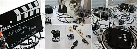 idee deco theme cinema th 232 me mariage archives lovely day