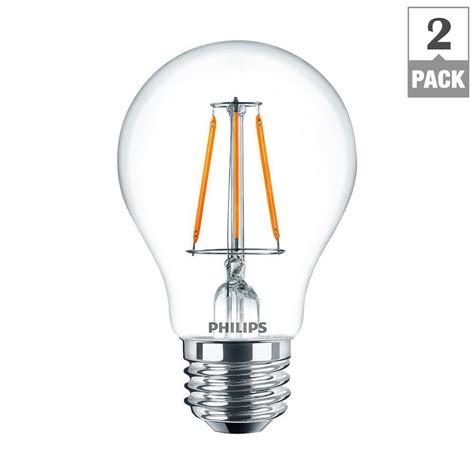 Home Depot Led Lights by Philips 60 Watt Equivalent A19 Led Light Bulb Daylight