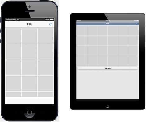 instagram grid template github krisrak appframework templates at initlabs