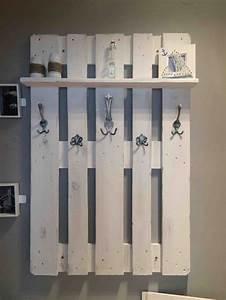 Möbel Aus Paletten Bauen : die 25 besten ideen zu garderobe aus paletten auf pinterest garderobe palette holzpaletten ~ Sanjose-hotels-ca.com Haus und Dekorationen
