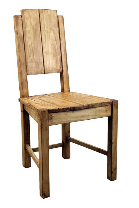 vera cruz pine rustic dining room chair mexican rustic