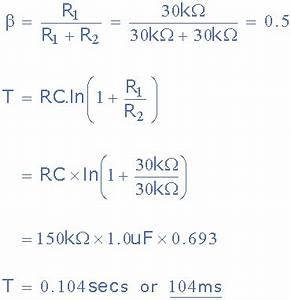 Rc Schaltung Berechnen : operationsverst rker monostabile schaltung ~ Themetempest.com Abrechnung