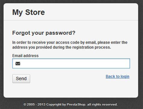 How To Reset Your Admin Password In Prestashop Web