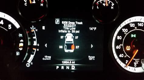 tire pressure sensor calibration