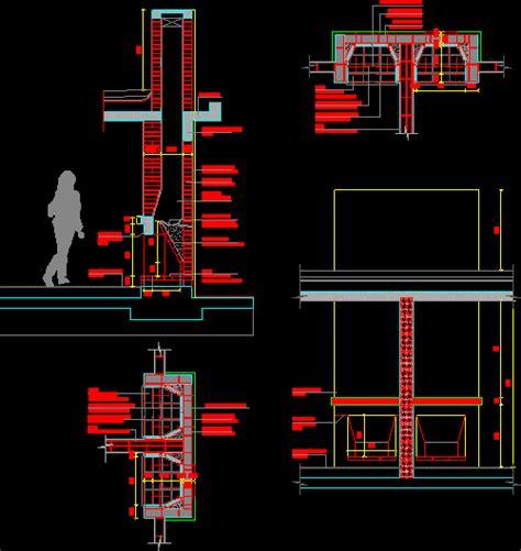 detail fireplace dwg detail  autocad designs cad