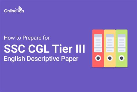 prepare  ssc cgl tier  english descriptive paper