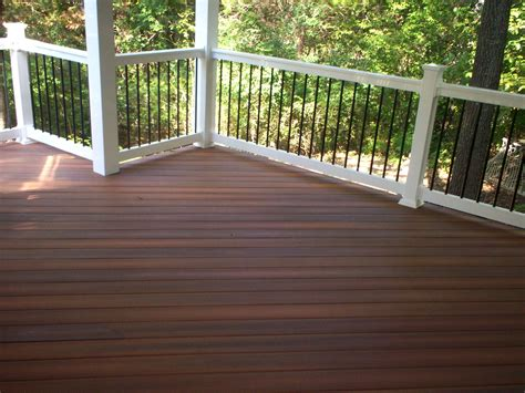wood hardwood decks st louis decks screened porches