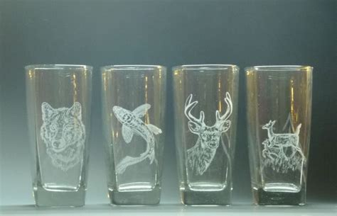 attempt  glass engraving glass crafts glass
