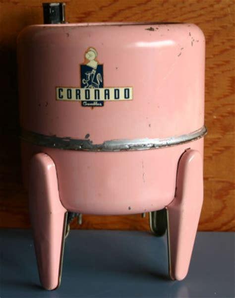 vintage pink toy washing machine toy washing machine