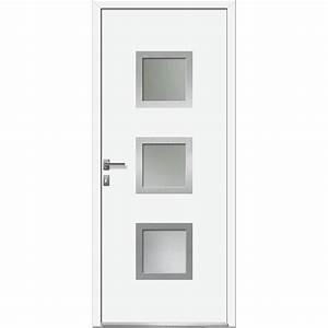 porte d39entree sur mesure en pvc arhus excellence leroy With porte de garage enroulable avec porte d entrée pvc leroy merlin