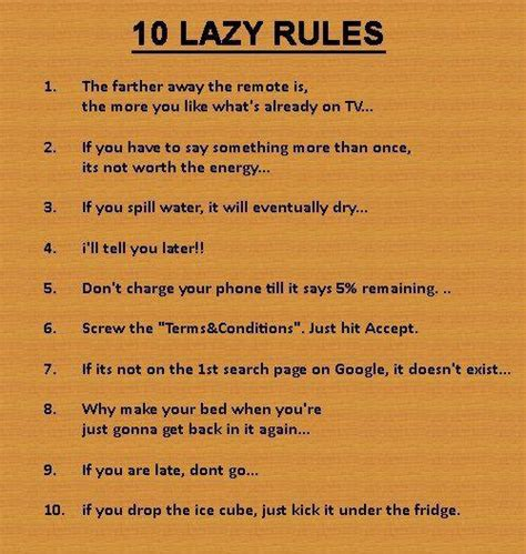 Lazy Quotes For Facebook Status