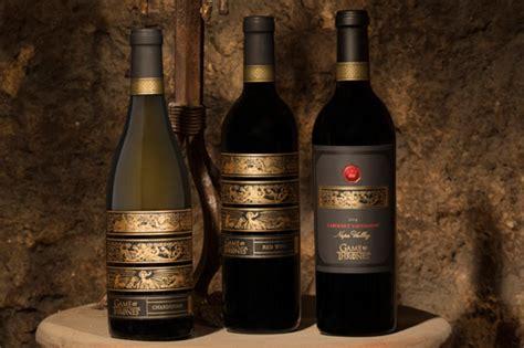 hbo licenses  game  thrones wine   lannister stark  targaryen houses  drum