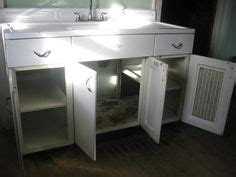 Vintage Youngstown Metal Kitchen Cabinets For Sale by Metal Kitchen Cabinet And Porcelain Sink For Sale