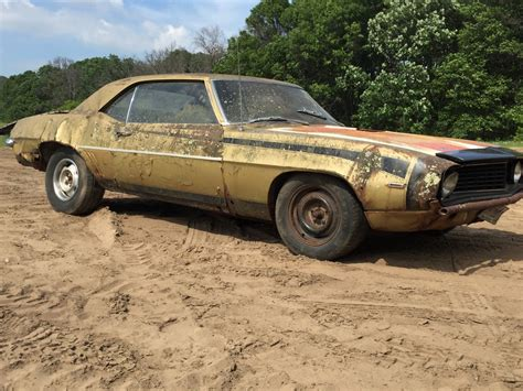 Project For Sale by 1969 Chevrolet Camaro Project Car Bar Find For Sale