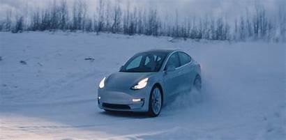 Tesla Winter Experience Finland Teslarati Driving