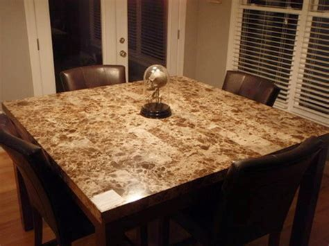 fantastic granite kitchen table