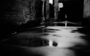 Rainy Dark Alley - WallDevil