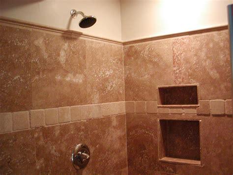 pictures   travertine tile good  bathroom