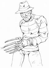 Freddy Krueger Coloring Pages Drawings Printable Easy Deviantart Castro Dani Nights Fazbear Freddys Five Whole Elm Gang Sketch Template Img13 sketch template