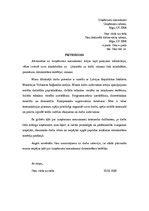 Motivācijas vēstules paraugs / Paraugs / CV / ID: 980840