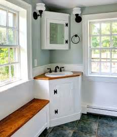 30 creative ideas to transform boring bathroom corners - Corner Bathroom Sink Ideas