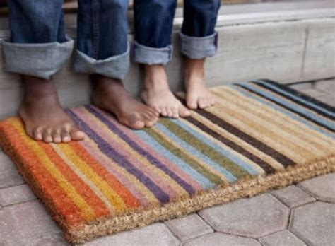 Colorful Doormat by 15 Cool Doormats Colorful And Eco Friendly