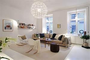 Wohnzimmer Scandi Style : skandinavische wohnzimmer designs mit einem hypnotisierendem effekt ~ Frokenaadalensverden.com Haus und Dekorationen