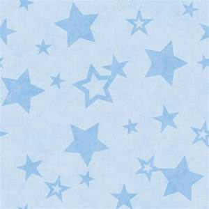 Blue and White Star Fabric Background — Stock Photo ...