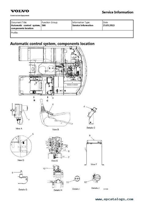 volvo ec eclc excavator service repair manual
