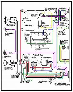 1968 Chevy C10 Ignition Switch Wiring Diagram