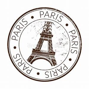 Rubber stamp paris stock vector Illustration of seal 28319302