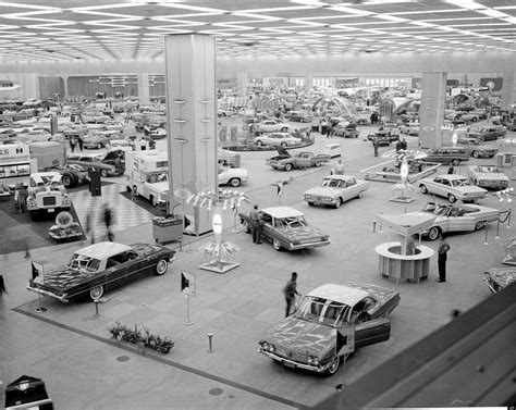 Detroit Auto Show History Classic Motor City Cars And