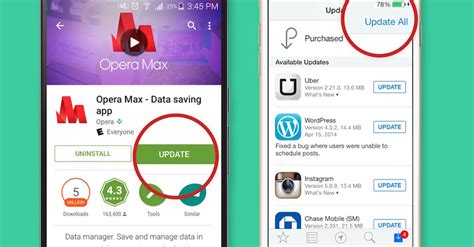 update android apps tips on app updates for android and ios browser zone