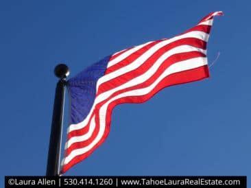 Printable Respect Honor Flag
