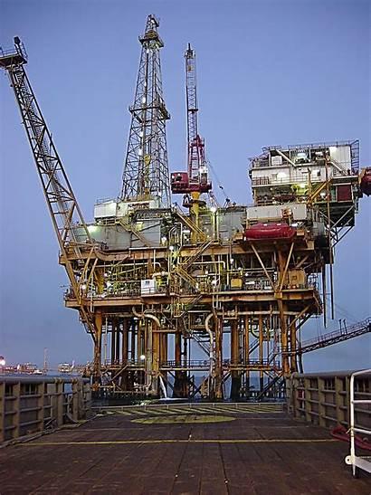 Petrolio Platform Offshore Gulf