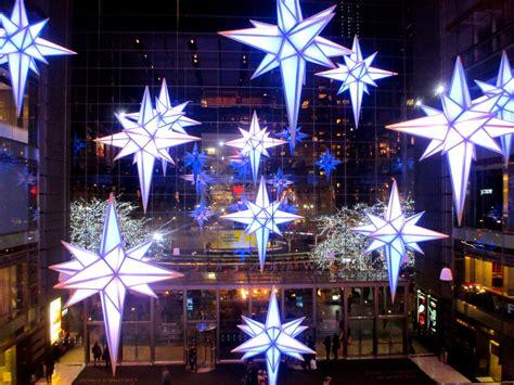 holiday   stars time warner center nyc walks