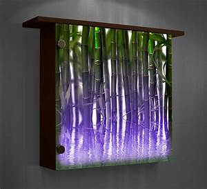 lighted wall decor color changing lights modern home With lighted wall art