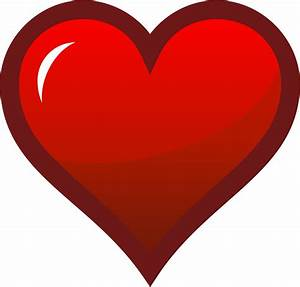 Clipart - Red Heart Icon