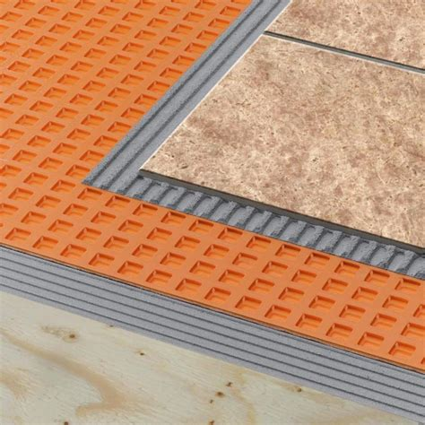 ditra uncoupling membrane schluter systems ditra xl uncoupling membrane remodeling bath flooring underlayments