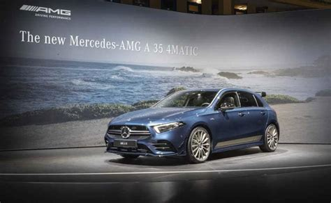 Update Motor Show 2019 :  2019 Mercedes-amg A35 Debuts With
