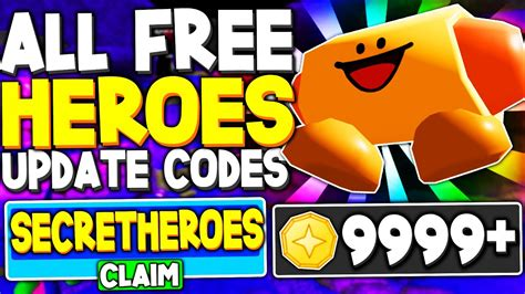 All free *heroes* update codes in tower heroes (roblox codes) i covered the in this video i will be showing you all the new working codes in tower heroes for the new update! ALL FREE *HEROES* UPDATE CODES in TOWER HEROES (ROBLOX ...