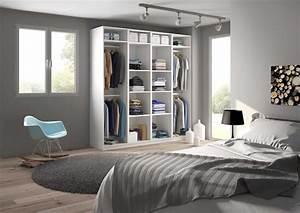 Chambre Dressing : armoire chambre adulte sur mesure ~ Voncanada.com Idées de Décoration