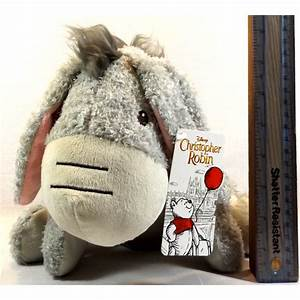 "Disney's Christopher Robin - 12"" Eeyore Plush Soft Toy UK ..."