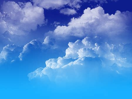 ide background biru langit hd gambar keren