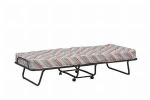 Luxor Folding Bed With Mattress Roll Away Bedcot Bed