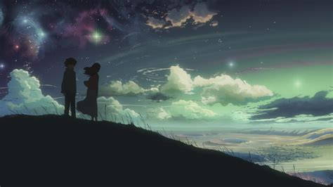 Space Anime Wallpaper - space anime 5 centimeters per second wallpapers