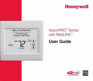 Honeywell Th8320r Users Guide 69 2761efs 03 Visionpro